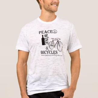 T-shirt Vin et bicyclettes 2 de la paix des hommes