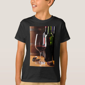 T-shirt Vin rouge