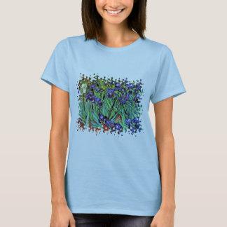 T-shirt Vincent van Gogh - iris - beaux-arts d'amant de