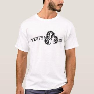 T-shirt Vingt-quatre pièces en t de musique