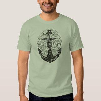 T-shirt vintage d'ancre