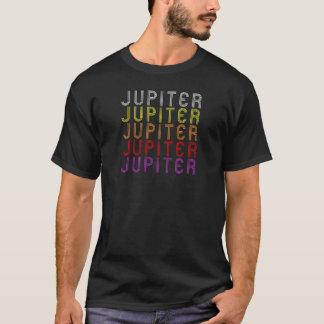 T-shirt vintage d'astronomie de planète de Jupiter