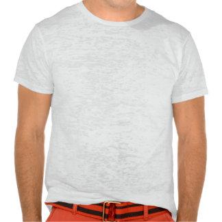 T-shirt VINTAGE de burn-out d'ILLUSTRATION de FLEU