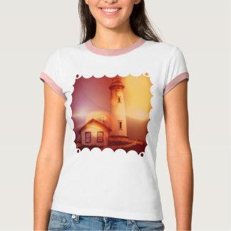 T-shirt vintage de dames de phare