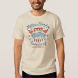 T-shirt vintage de Moto de tonnerre de roulement