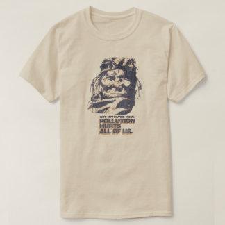 T-shirt vintage de nostalgique de pollution de