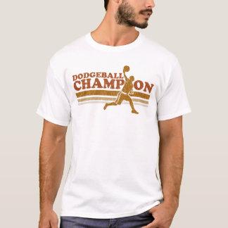 T-shirt vintage de sonnerie de champion de