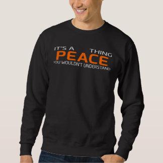 T-shirt vintage drôle de style pour la PAIX