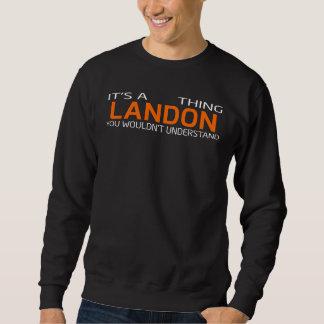 T-shirt vintage drôle de style pour LANDON