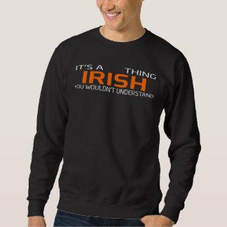 T-shirt vintage drôle de style pour l'IRLANDAIS