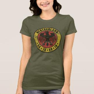T-shirt vintage du Deutschland - dames petites
