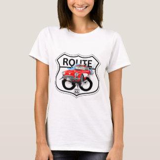 T-shirt Vintage Route 66 - white T Shirt