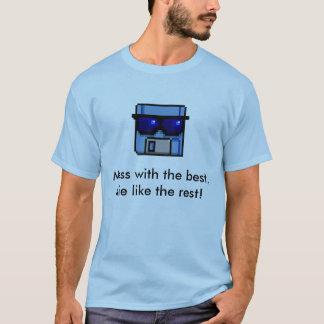 T-shirt vintage souple de pirate informatique