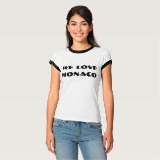 T-Shirt Vintage We Love Monaco