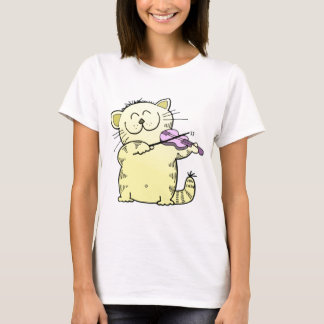 T-shirt Violon de jeu de Kitty