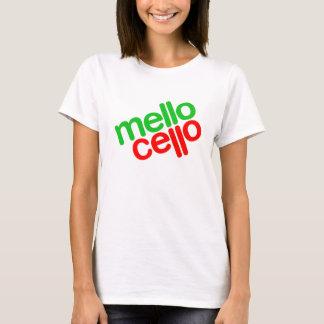 T-shirt Violoncelle de Mello (femmes)