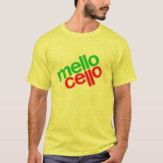 T-shirt violoncelle de mello (hommes)