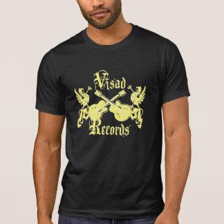 T-shirt Visad enregistre le jaune