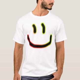 T-shirt Visage au néon