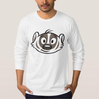 T-shirt Visage de blaireau de boomer du raton laveur | de