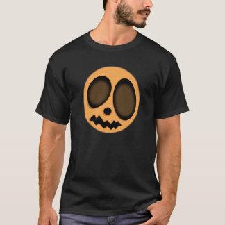 T-shirt Visage de citrouille de Halloween