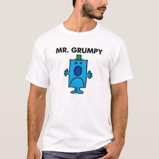 T-shirt Visage de froncement de sourcils de M. Grumpy |