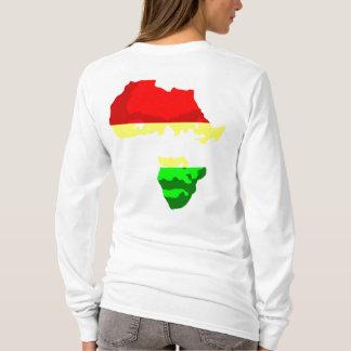 T-shirt VISAGE de l'AFRIQUE (Hoody des femmes)