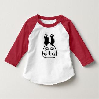 T-shirt visage de lapin