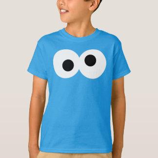 T-shirt Visage de monstre de biscuit grand