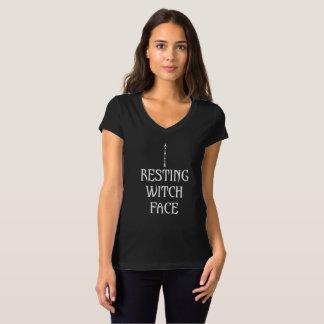 T-shirt Visage de repos de sorcière