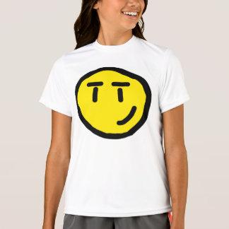 T-shirt visage de sourire affecté