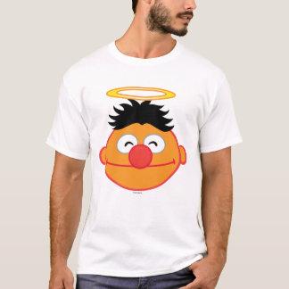 T-shirt Visage de sourire d'Ernie avec le halo