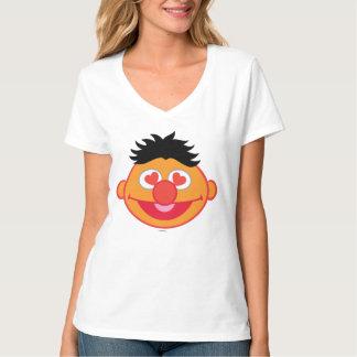 T-shirt Visage de sourire d'Ernie avec les yeux en forme