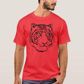 T-shirt Visage de tigre