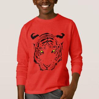 T-shirt Visage de tigre - chemise