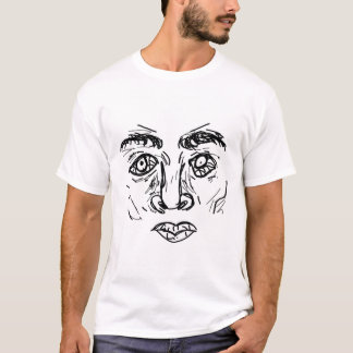 T-shirt Visage d'effort