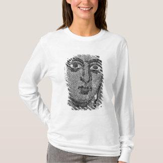 T-shirt Visage d'une dame de l'église de St-Ambrosius