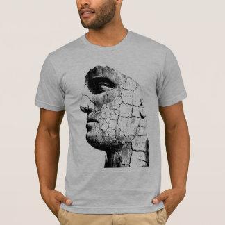 T-shirt Visage en pierre