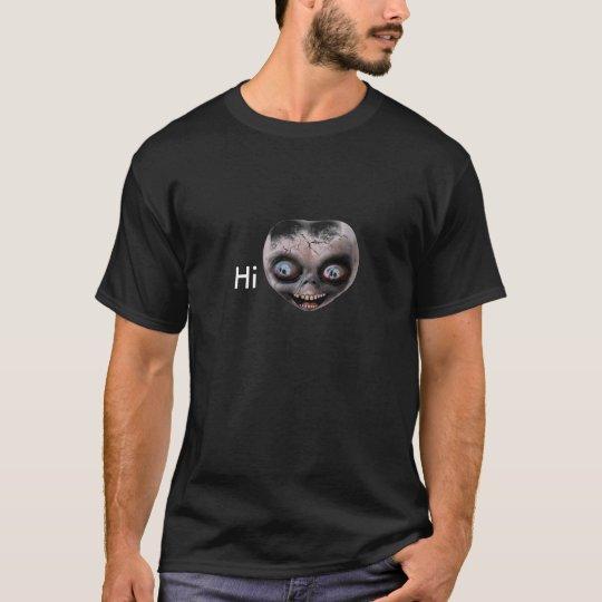 T-shirt Visage étranger
