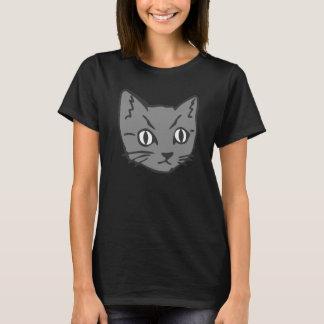 T-shirt Visage gothique de chat de Kitty