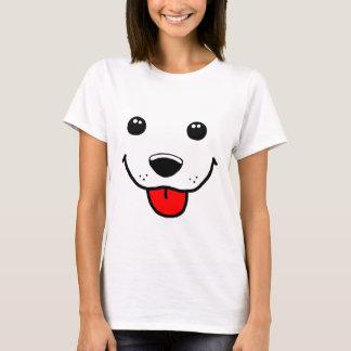 T-shirt Visage heureux de chiot