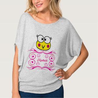 T-shirt visage mignon de fille de crapaud