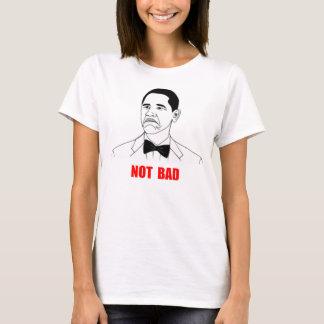 T-shirt Visage non mauvais Meme de rage de Barack Obama