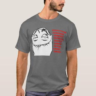 T-shirt Visage riant Meme comique de rage de PFFTCH