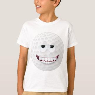 T-shirt Visage souriant 2 de boule de golf