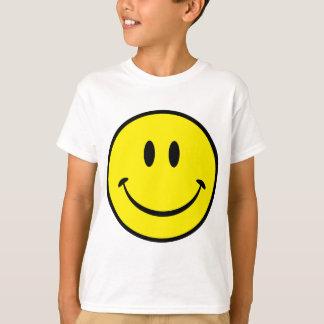 T-shirt Visage souriant de bonheur