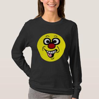 T-shirt Visage souriant drôle Grumpey