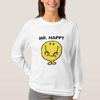 T-shirt Visage souriant géant de M. Happy |
