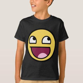 T-shirt Visage souriant impressionnant