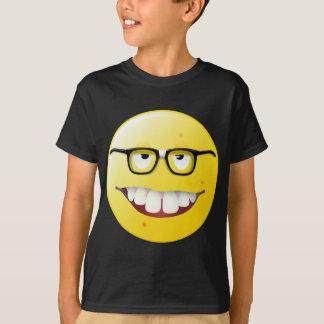 T-shirt Visage souriant nerd